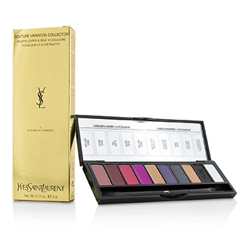 Couture Variation Collector 10 Colour Lip & Eye Palette - # 5 Nothing Is Forbidden