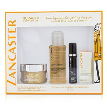 Suractif Comfort Lift Rich Set: Rich Day Cream 50ml+ Serum Youth Renewal 10ml+ Lifting Eye Cream 3ml+ Express Cleanser 100ml