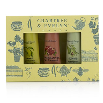 Botanicals Hand Therapy Set (1x Citron, Honey & Coriander, 1x Pomegranate, Argan & Grapeseed, 1x Avocado, Olive & Basil)
