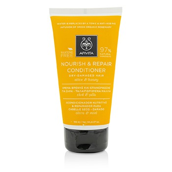 Nourish & Repair Conditioner with Olive & Honey (For Dry-Damaged Hair)