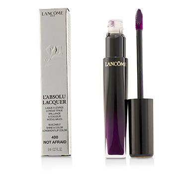 L'Absolu Lacquer Buildable Shine & Color Longwear Lip Color - # 490 Not Afraid